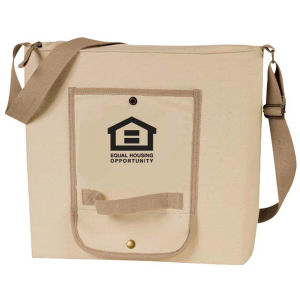 Roll up canvas messenger