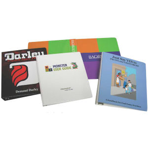 Binder with 4 color