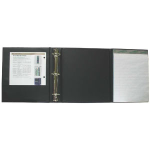 Tri-fold binder with inside