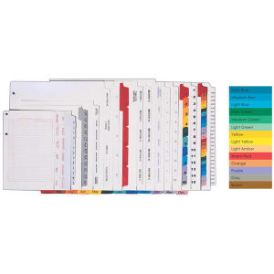 Promotional Index Guides/Tabs-