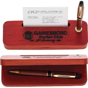 Promotional Business Card Stands-PEN-BOX-PB4