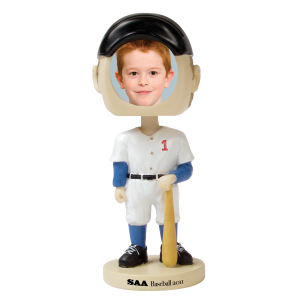 Single bobble head (baseball).