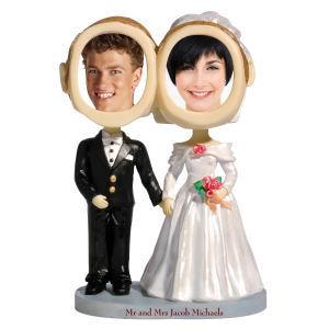 Couple bobble head (bride