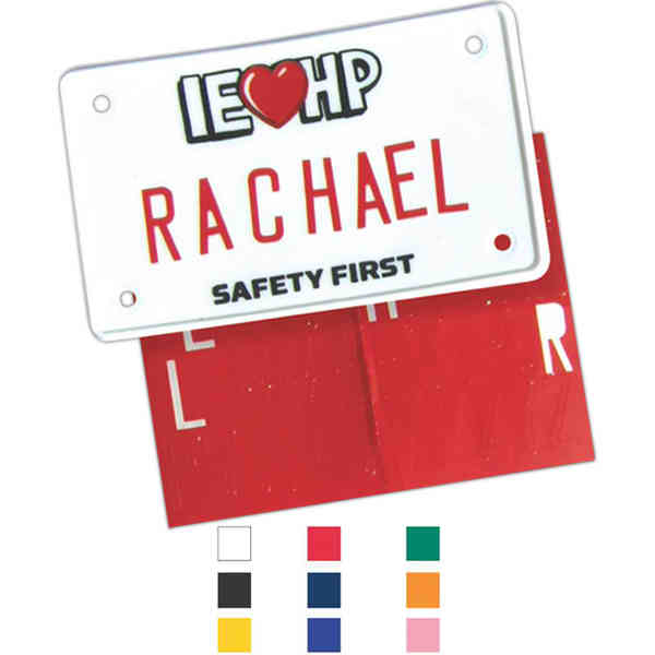 Bicycle license plate with