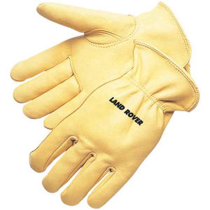 Deerskin driver glove with