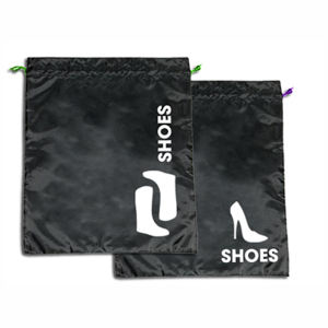 Reusable shoe bag.