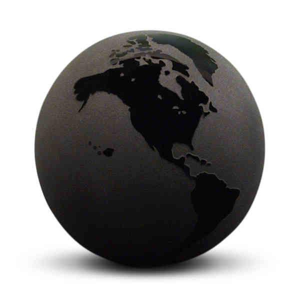 Glass globe gift -