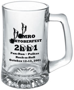 Promotional Glass Mugs-G 418