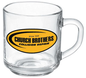 Promotional Glass Mugs-G 419