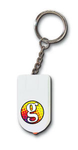 Promotional Keytags with Light-MO24-FC