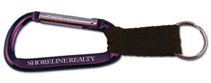 Carabiner with strap, 3