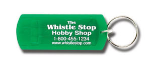 Three-tone whistle key tag,