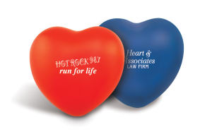 Heart shape stress ball,