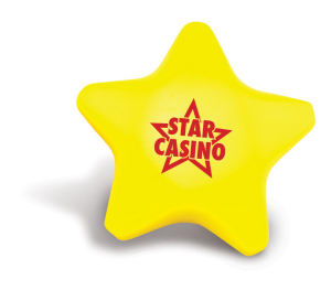 Star shape stress ball,