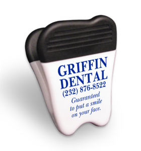 Ad Specialty Tooth Magnet Clip