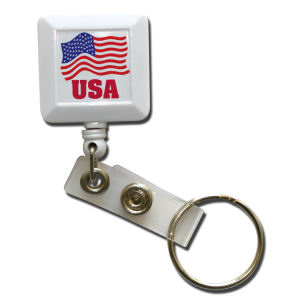 Promotional Retractable Badge Holders-BPR5-FC