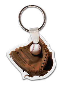 Baseball and mitt shape