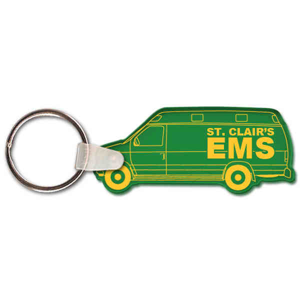 Ambulance shape key tag.