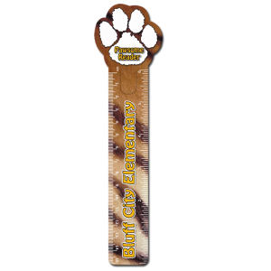 Promotional Bookmarks-R123PAW-FC