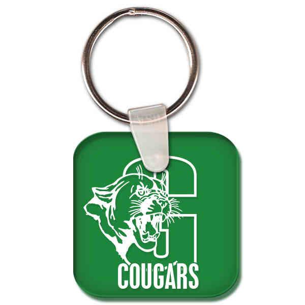 Square shape key tag.