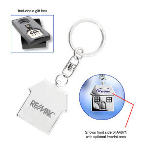 Custom Laser-Imprinted Key Tag