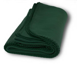 Promotional fleece blanket 100%