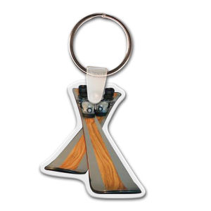 Promotional Metal Keychains-KT-18473-FC