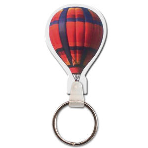 Promotional Retractable Badge Holders-KT-16020-FC