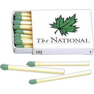Special size box matches,