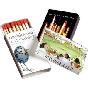 Promotional Matches-BXQ-4