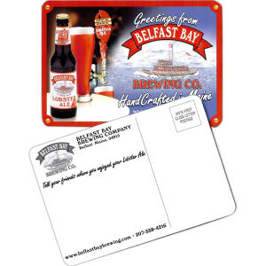 Postcard Coaster, 3.5