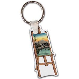 Easel shape key tag,