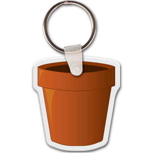 Planter shape key tag,