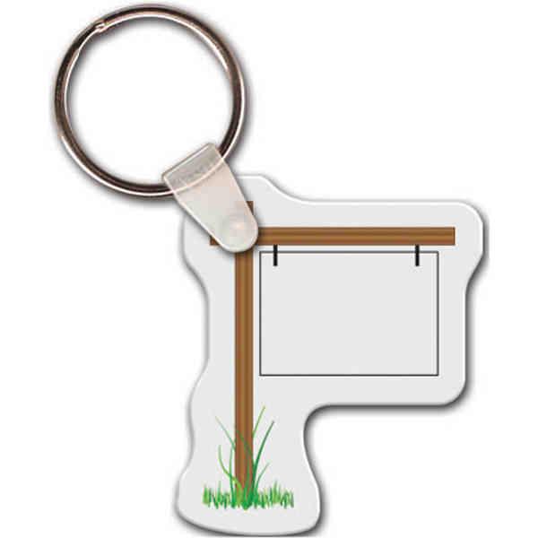 Hanging sign shape key