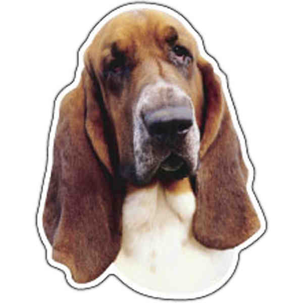 Dog shape thin magnet,