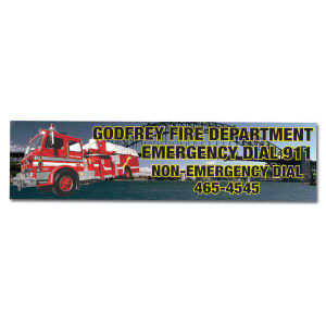 Promotional Bumper Stickers-MM3727