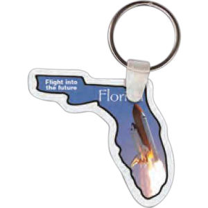 Florida shape key tag,