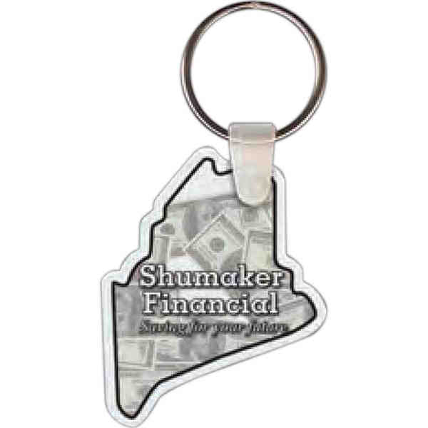 Maine shape key tag,