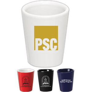 Promotional Drinking Glasses-SHOT-MUG-J124