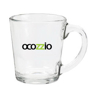 13 oz glass mug