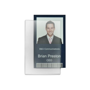 Promotional Vinyl ID Pouch/Holders-806
