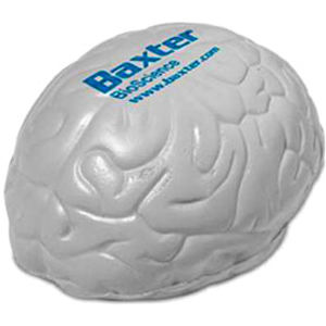 Brain shaped stress reliever.