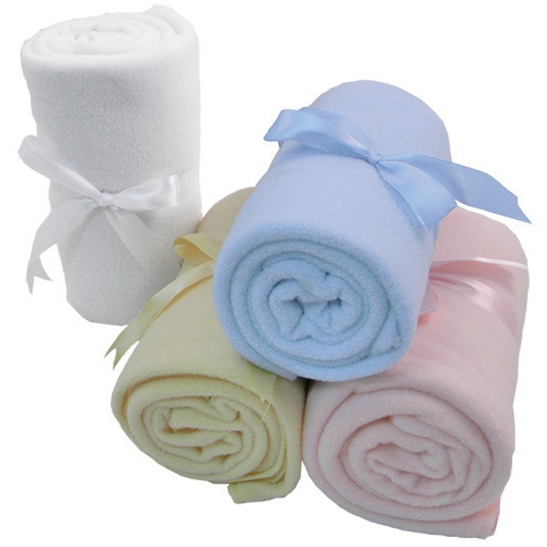 Baby blanket, complimentary ribbon