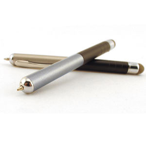 2-in-1 Ballpoint stylus.