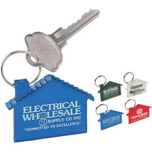 Promotional Vinyl Key Tags-H-300