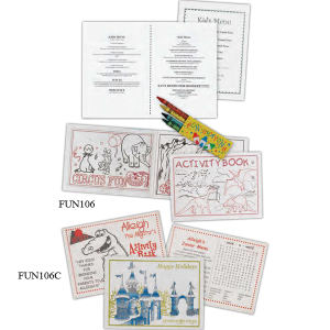 Promotional Coloring Books-FUN106