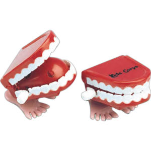 Logoed Teeth Chatterer Toy