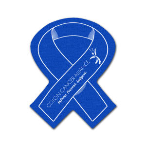 Economical awareness ribbon rubber