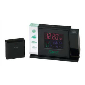 Crystal weather station with