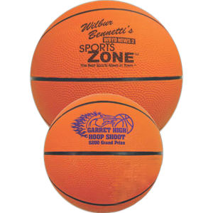 Mini rubber basketball, 7